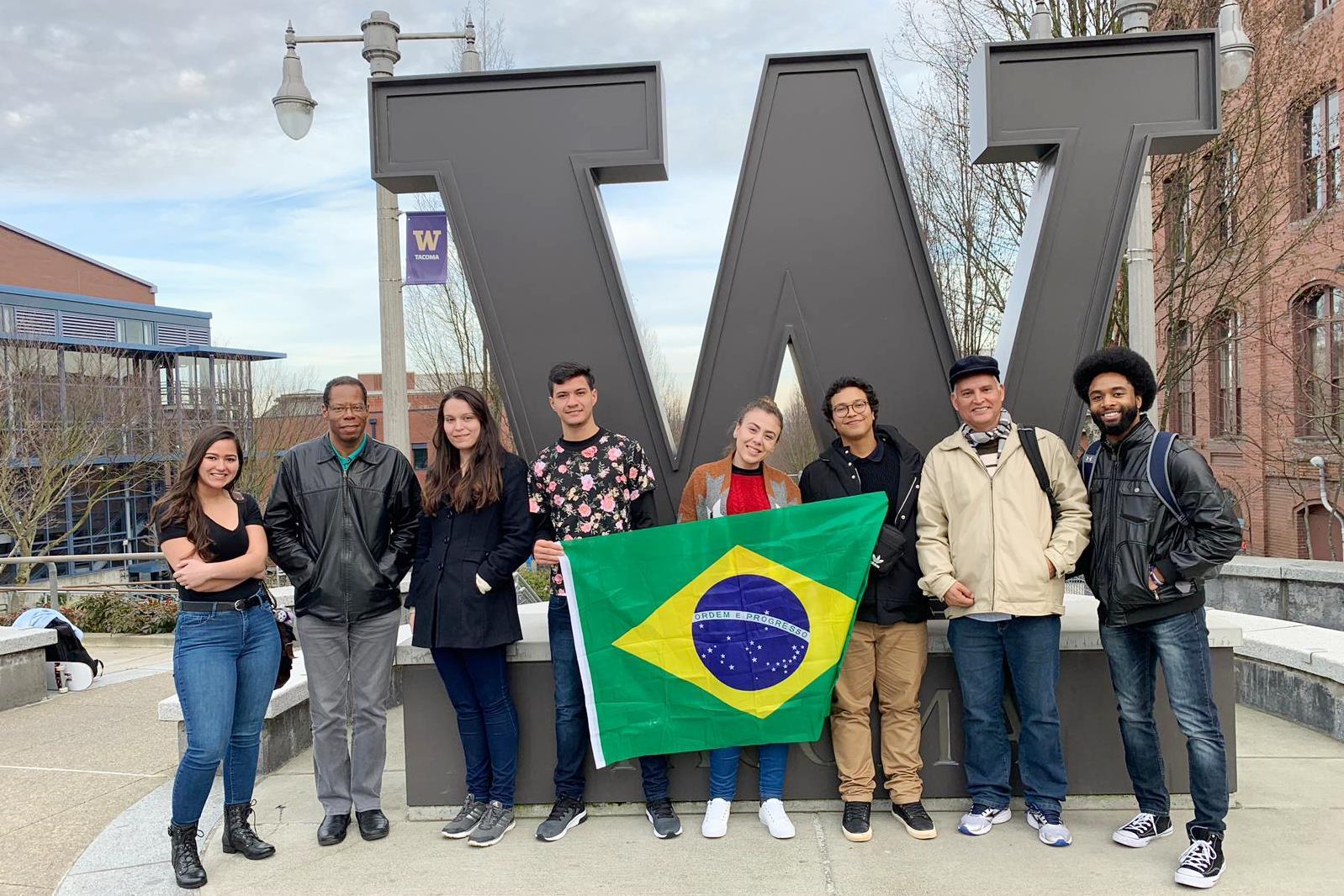 Estudantes da UCDB em Washington