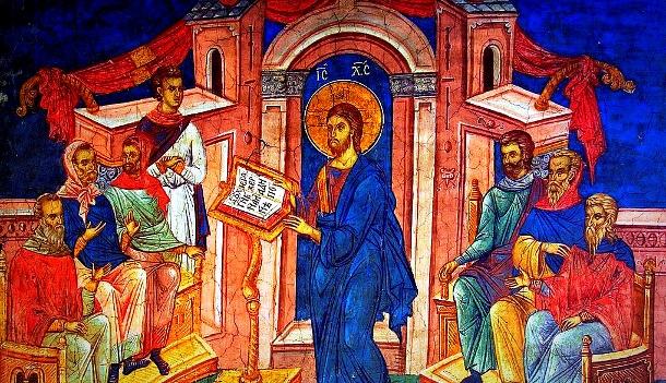 Resultado de imagem para Jesus pregando na sinagoga