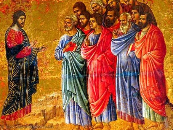 Resultado de imagem para jesus e apostolos