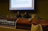 Caroline Lencilio e Zuleika Tiago ministraram palestra para os acadêmicos