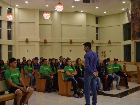 Estudantes conheceram a Paróquia Universitária São João Bosco