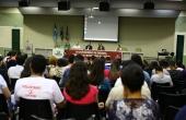 Uma das palestras da terceira edição do Congresso em 2016
