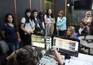Acadêmicos americanos também conheceram a Rádio FM Educativa UCDB 91,5