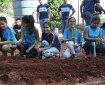 Projeto Horta Escola é uma das extensões que vai participar das ações sociais