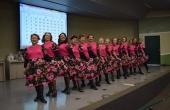 Alunas da UMI apresentaram uma coreografia de dança no ritmo do forró