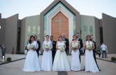 Cinco casais participaram do 1º Casamento Coletivo da UCDB