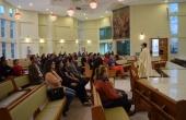 Missa foi celebrada pelo Pe. Ricardo Carlos, Reitor da UCDB.