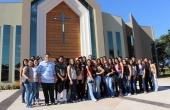 Alunos conheceram a Paróquia Universitária São João Bosco