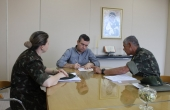 Termo de cooperação foi assinado na sala da Reitoria