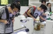 Estudantes conheceram os laboratórios da UCDB