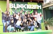 Rádio Blink 102 foi um dos veículos de comunicação visitados pelos acadêmicos durante o evento