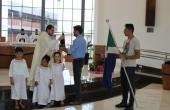 Crianças do CEI participaram da celebração