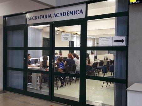 Secretaria Acadêmica funciona das 9h às 19h
