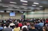 Acadêmicos de quatro cursos da UCDB participaram da palestra promovida no dia 15 deste mês