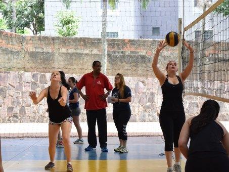Seletiva para quatro modalidades foi realizada no Ginásio Poliesportivo Dom Bosco