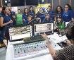 Rádio UCDB é um dos locais visitados por estudantes do Ensino Médio durante o Dia de Campus