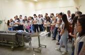 Clínica Escola foi um dos espaços visitados pelos alunos