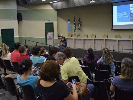 Reunião foi realizada no anfiteatro do bloco B da UCDB