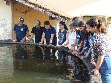 Curso de Construção de tanques escavados foi realizado na Fazenda Escola da UCDB