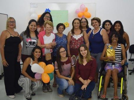 Pacientes do projeto Cogni-Ação que participaram do evento
