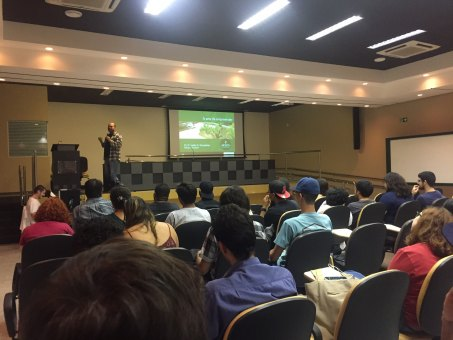 Aula Magna foi realizada no Anfieatro Multidisciplinar