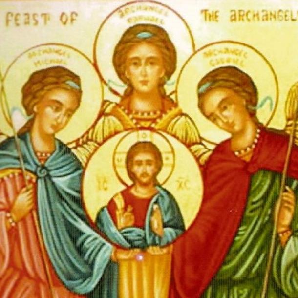 Resultado de imagem para santos arcanjos
