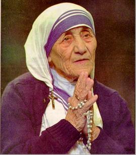 Resultado de imagem para Beata Teresa de Calcutá